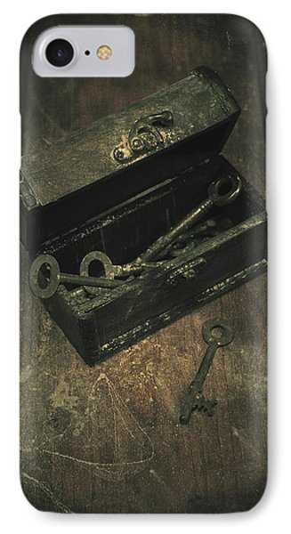 Keys Phone Case by Joana Kruse