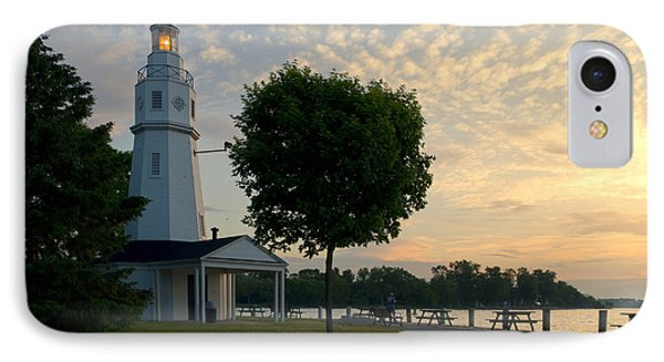 Kimberly Point Lighthouse IPhone Case by Joel Witmeyer