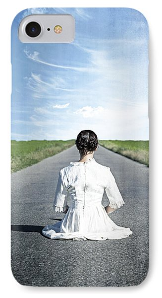 Lady On The Road Phone Case by Joana Kruse