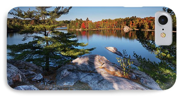 Lake George At Killarney Provincial Park In Fall IPhone Case