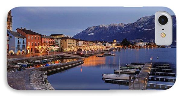 Lake Maggiore - Ascona Phone Case by Joana Kruse