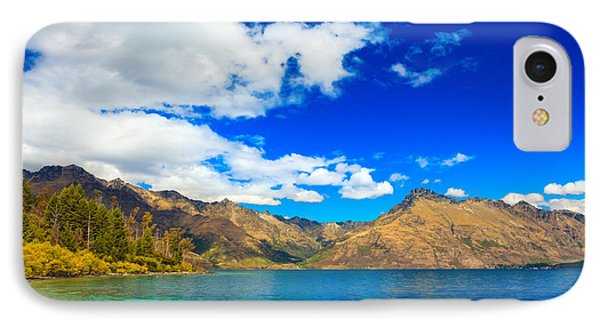 Lake Wakatipu Phone Case by MotHaiBaPhoto Prints