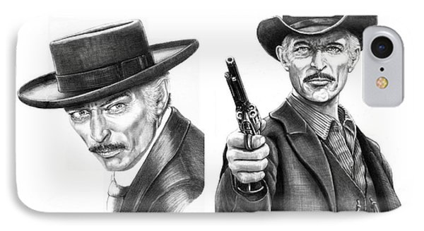 Lee Van Cleef Phone Case by Murphy Elliott