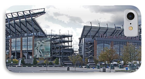 Lincoln Financial Field Phone Case by Jack Paolini