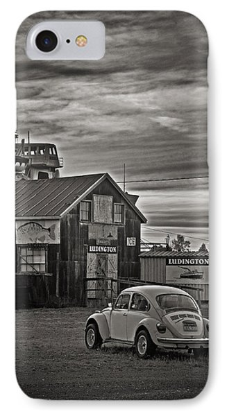 IPhone Case featuring the photograph Lonely Vw by Randall  Cogle