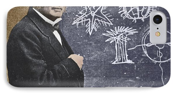 Louis Agassiz, Swiss-american Polymath IPhone Case by Science Source