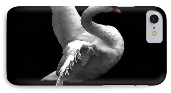 Majestic Swan 2 IPhone Case by Dale   Ford