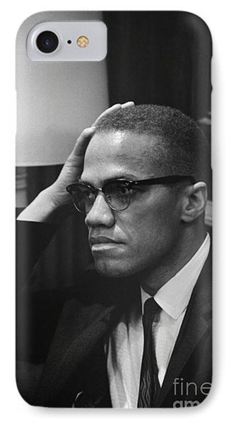 Malcolm X (1925-1965) Phone Case by Granger