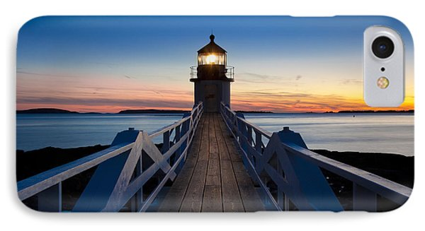 Marshall Point Light Phone Case by Brian Jannsen