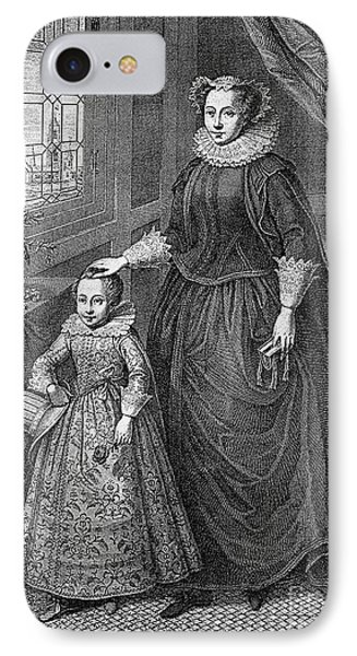 Mary, Queen Of Scots Phone Case by Granger