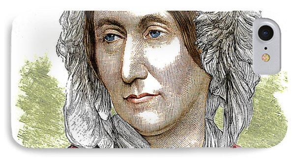 Mary Somerville, Scottish Polymath Phone Case by Science Source