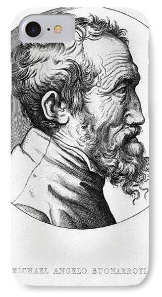 Michelangelo (1475-1564) Phone Case by Granger