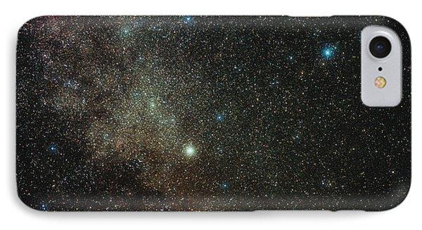 Milky Way In Cygnus Phone Case by Eckhard Slawik