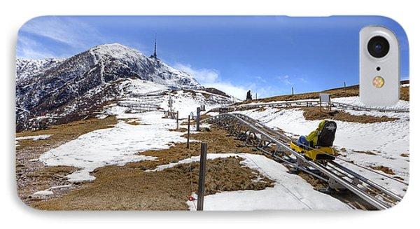 Monte Tamaro - Alpe Foppa - Ticino - Switzerland Phone Case by Joana Kruse