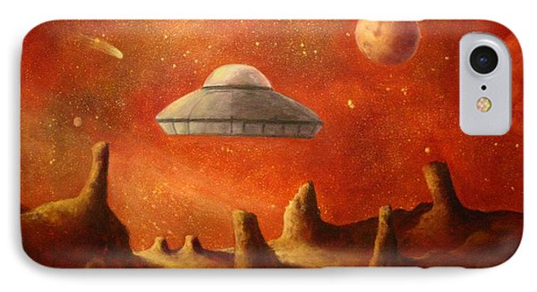 Mysterious Planet Phone Case by Randy Burns