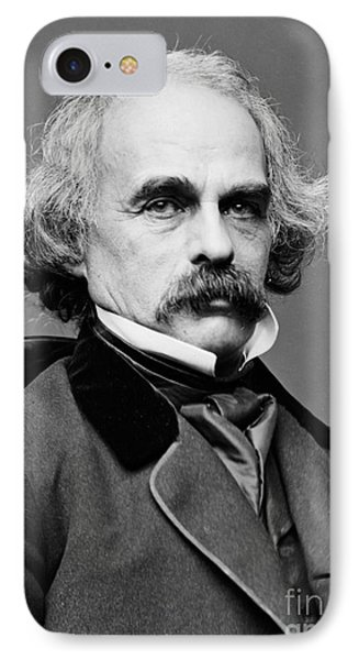 Nathaniel Hawthorne, American Author IPhone Case by Photo Researchers