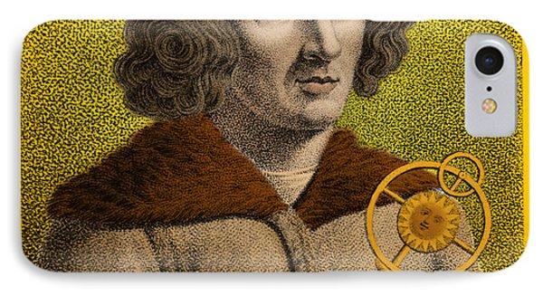 Nicolaus Copernicus, Polish Astronomer Phone Case by Omikron