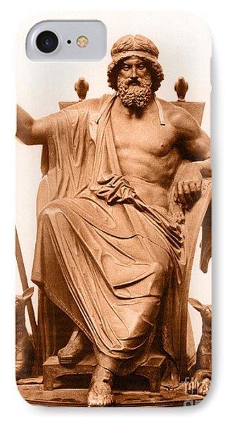 Odin, Norse God Phone Case by Photo Researchers