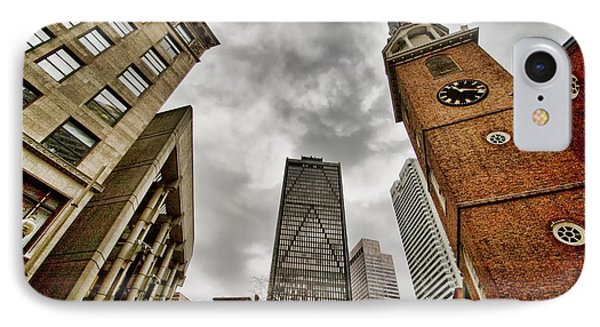 Old South Meeting House IPhone Case by Joann Vitali