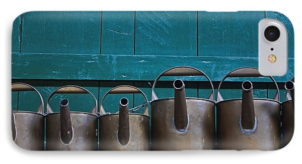 Old Watering Cans Phone Case by Joana Kruse