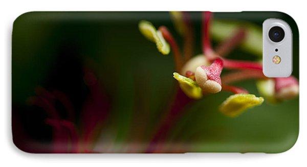 Passiflora Flower Phone Case by Zoe Ferrie