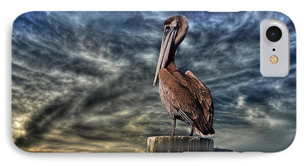 IPhone Case featuring the photograph Pelican At Sunset by Dan Friend