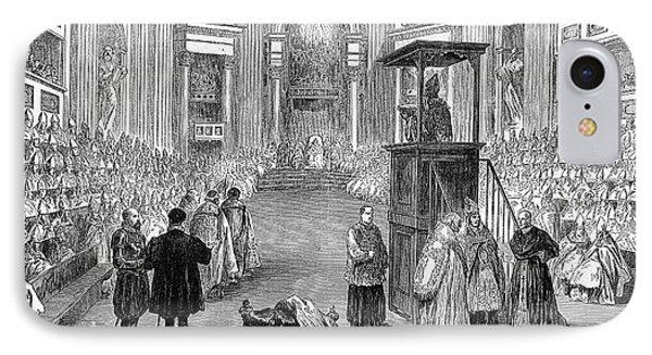 Pope Pius Ix (1792-1878) Phone Case by Granger