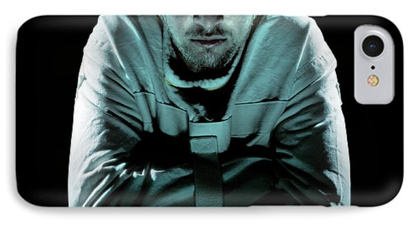 Psychiatric Patient Phone Case by Kevin Curtis