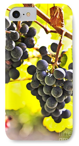 Red Grapes Phone Case by Elena Elisseeva
