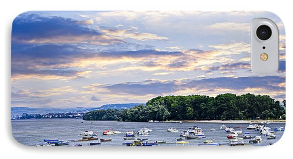 River Boats On Danube IPhone Case