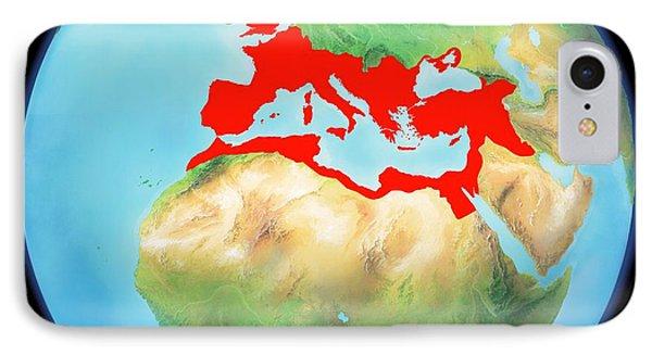 Roman Empire, Artwork Phone Case by Gary Hincks