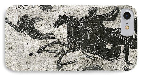 Roman Mosaic, Ostia Antica Phone Case by Sheila Terry