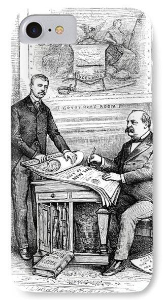 Roosevelt Cartoon, 1884 Phone Case by Granger