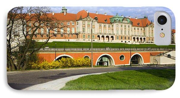 Royal Castle In Warsaw IPhone Case by Artur Bogacki