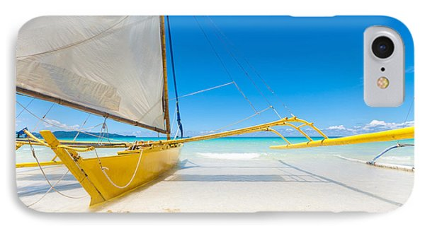 IPhone Case featuring the photograph Sailing Boats by Hans Engbers