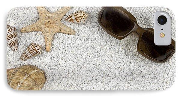 Seastar And Shells Phone Case by Joana Kruse