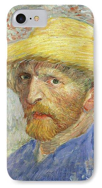 Self Portrait Phone Case by Vincent van Gogh
