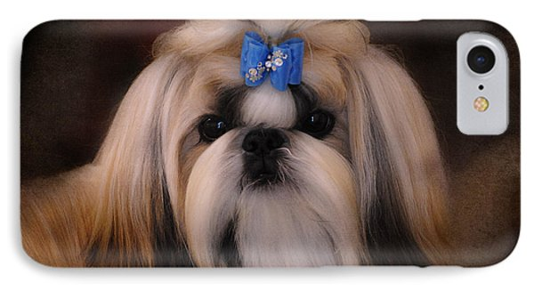 Shih Tzu Phone Case by Jai Johnson