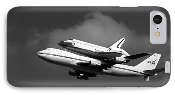 Shuttle Endeavour Phone Case by Jason Smith