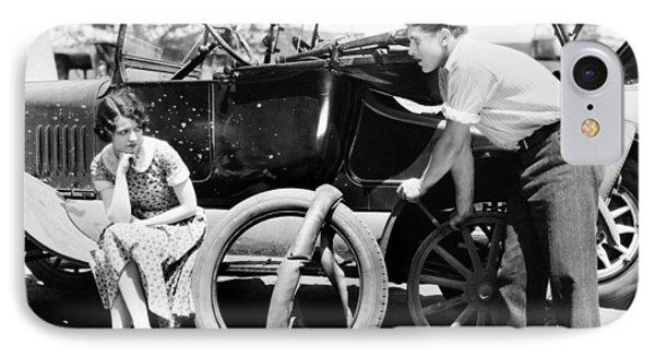 Silent Film: Automobiles Phone Case by Granger