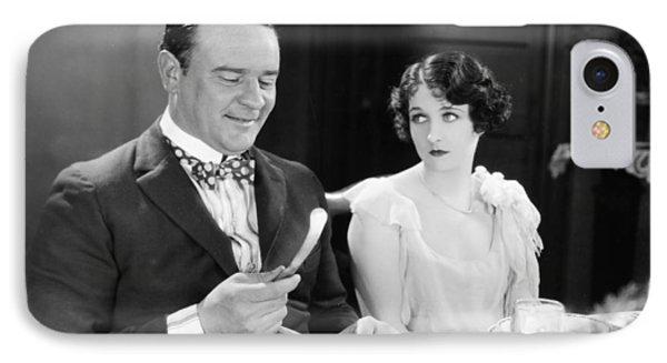 Silent Film: Restaurants Phone Case by Granger
