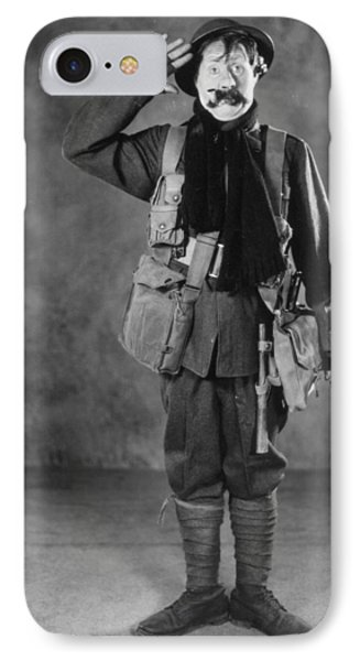 Silent Film Still: Uniforms Phone Case by Granger
