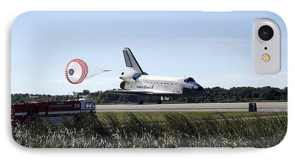 Space Shuttle Atlantis Unfurls Its Drag Phone Case by Stocktrek Images