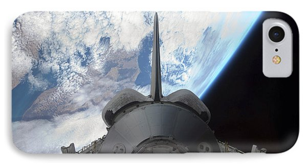 Space Shuttle Endeavours Payload Bay Phone Case by Stocktrek Images