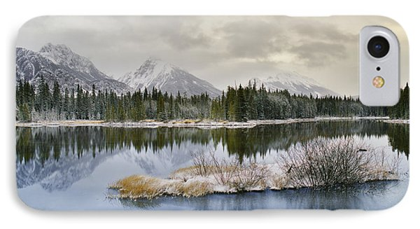 Spillway Lake And The Opal Range, Peter Phone Case by Darwin Wiggett