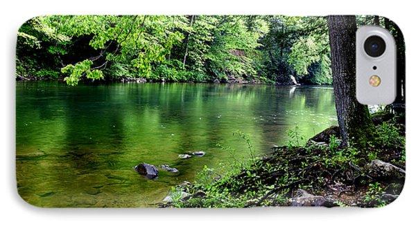 Spring Along Cranberry River Phone Case by Thomas R Fletcher