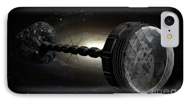 Starship Inspired By The Novels Phone Case by Rhys Taylor