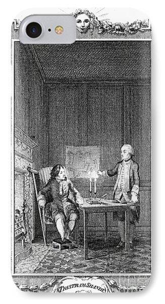 Sterne: Tristram Shandy Phone Case by Granger