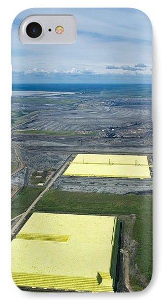 Sulphur Extracted From Oil, Canada IPhone Case