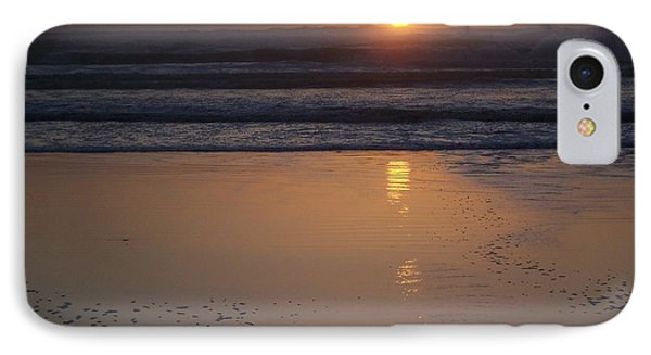 Sunset At Surfside 3 IPhone Case by Peter Mooyman
